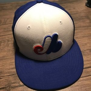 Montreal Expos New Era Adjustable Baseball Cap